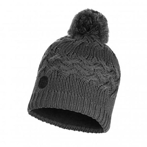 Buff Knitted and Polar Hat Savva Grey
