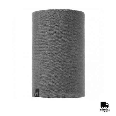 Buff Knitted Neckwarmer Colt Grey Pewter-