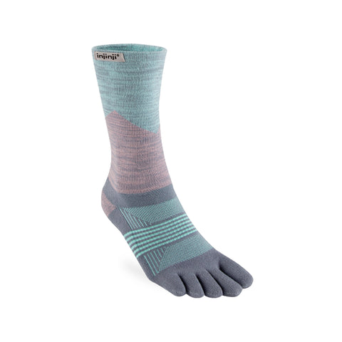 Injinji Women's Trail MW Crew Quartz