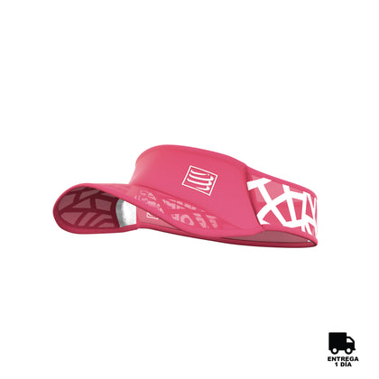 Compressport® Spiderweb Ultralight Visor Pink