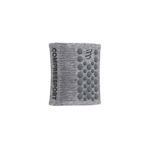 Compressport Sweatbands 3D Dots Grey Melagne