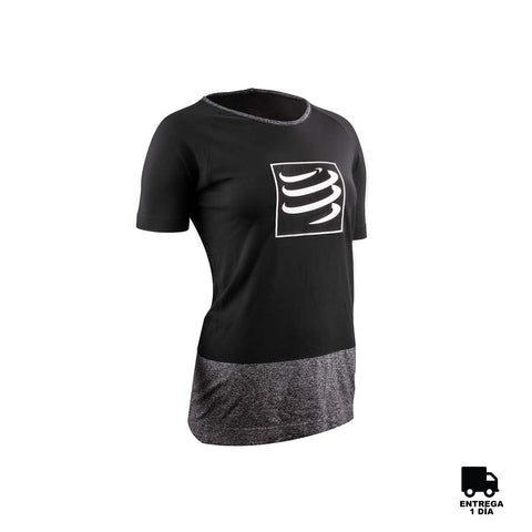 Compressport® Training T-Shirt Black Women