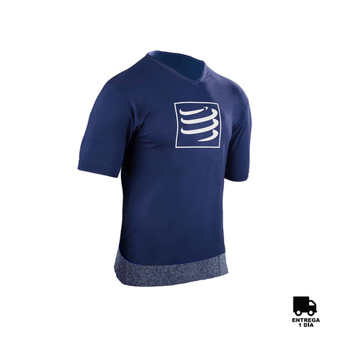 Compressport® Training T-Shirt Blue Man