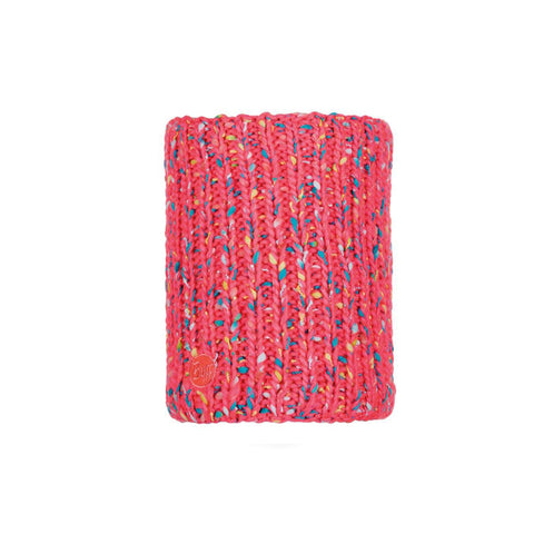 Buff Knitted and Polar Neckwarmer Yssik Pink Fluor