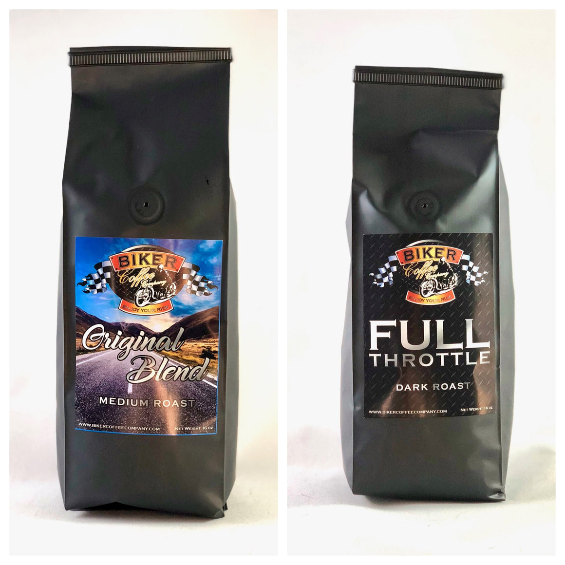 Double sample pack (Original Blend+Full Throttle)