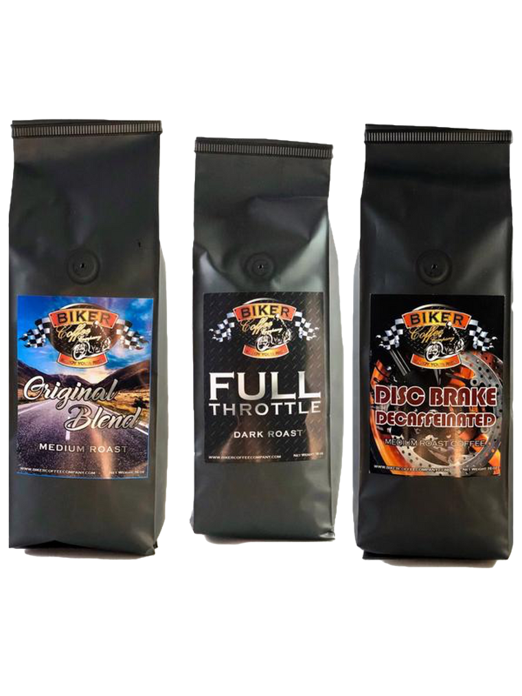 Triple sample pack (Original Blend+Full Throttle+Disc Brake Decaf)