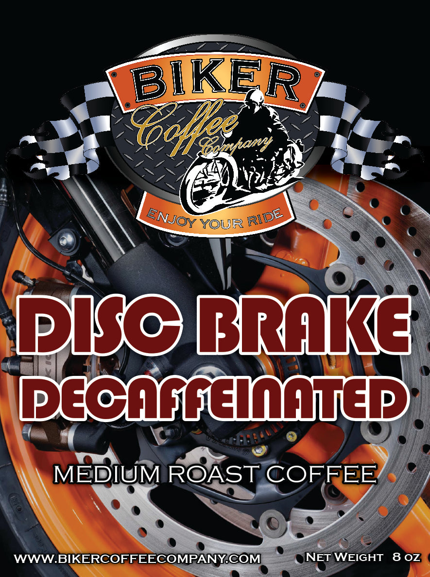 Disc Brake Decaf - 8oz
