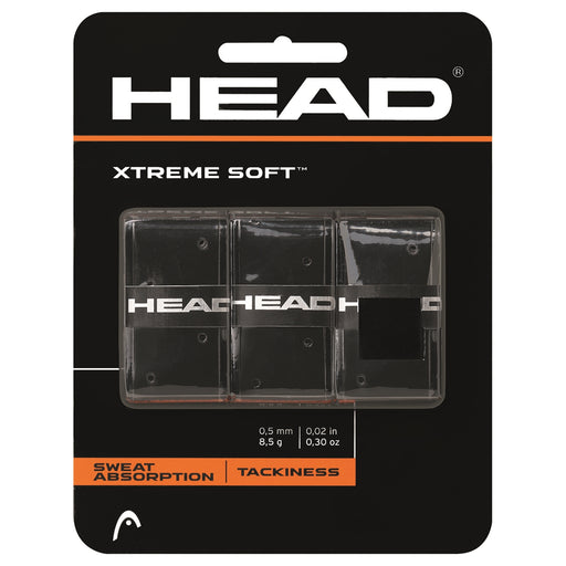 Head Xtreme Soft 3-pack svart