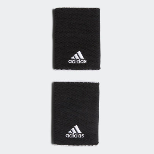 Adidas Wristband Large 2-pack svart