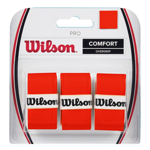 Wilson Pro Overgrip 3-pack Burn Orange