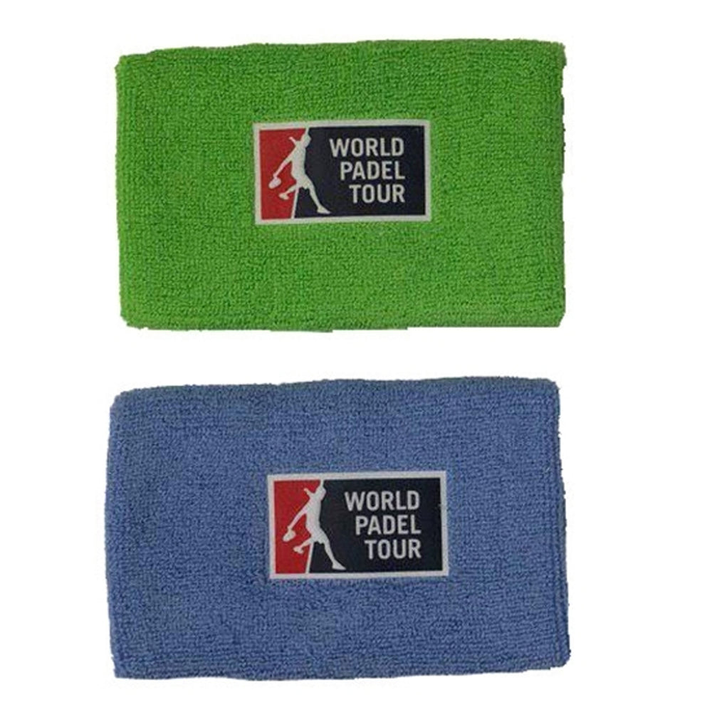 Bullpadel Wristband WPT Blue/Green 2-pack