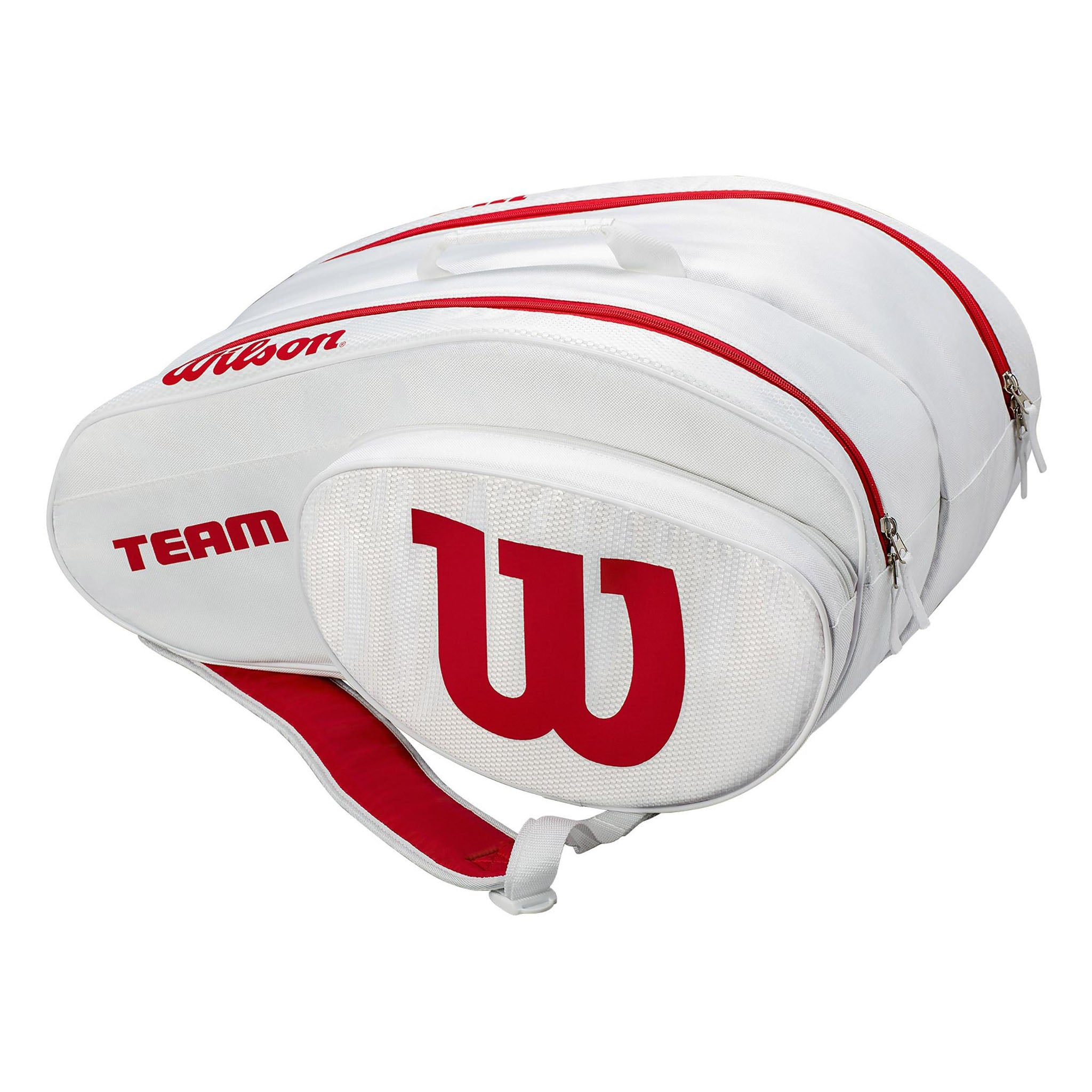 Wilson Padel Bag White/Red