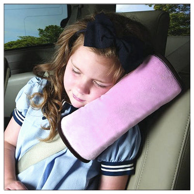 Cushioned Seat-Belt Protection Cover