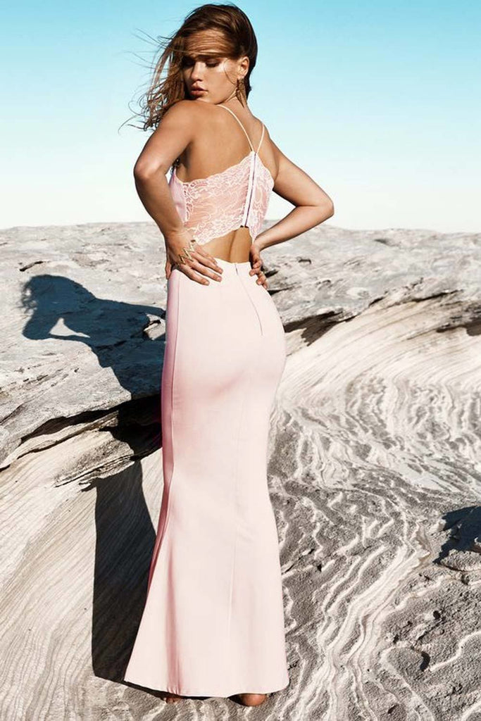 Brisk Backless Formal Dress - Formal Dresses - Aurium Boutique