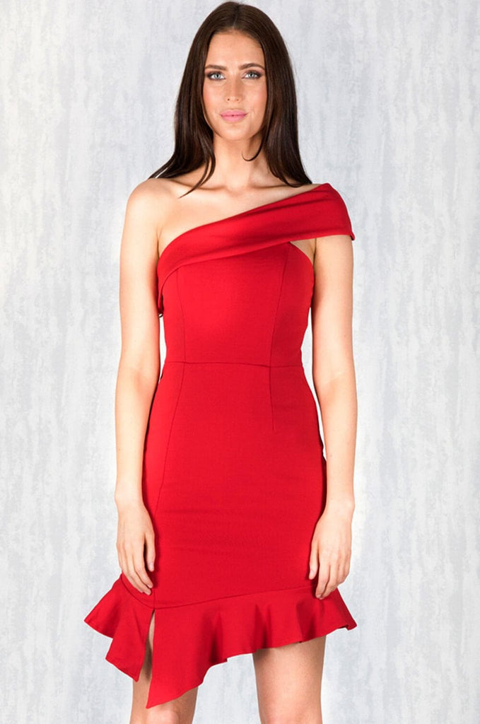 Begin Again Red Convertible Dress - Cocktail Dresses - Aurium Boutique