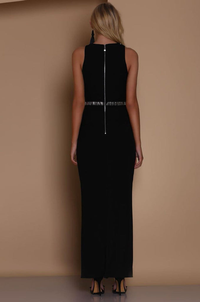 Dimmed Light Maxi Dress - Formal Dresses - Aurium Boutique