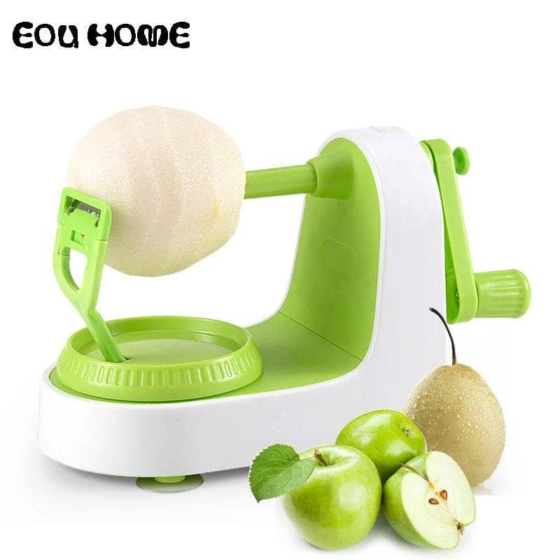 2 Combo Pack: Apple Peeler Fruit Peeling Machine & Apple Corer/Slicer - NovaShop365 ™