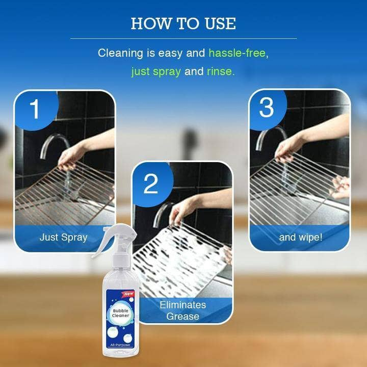 All-Purpose Kitchen Bubble Cleaner - NovaShop365 ™