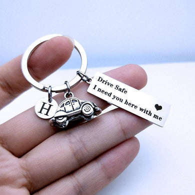 Be Safe Initial Keychains - NovaShop365 ™