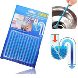Drain Cleaner and Deodorizer Sticks (12pcs) - NovaShop365 ™