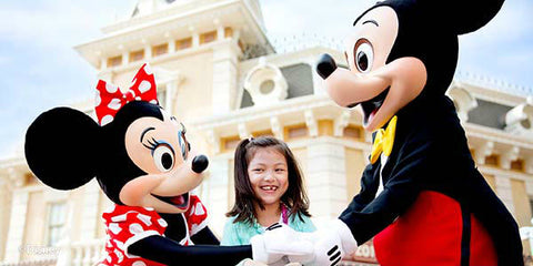 Hong Kong Disneyland 1-Day Ticket valid until Sep 2018