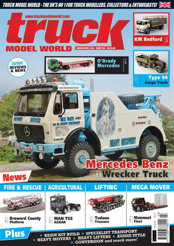 Truck Model World Magazine March April 2018