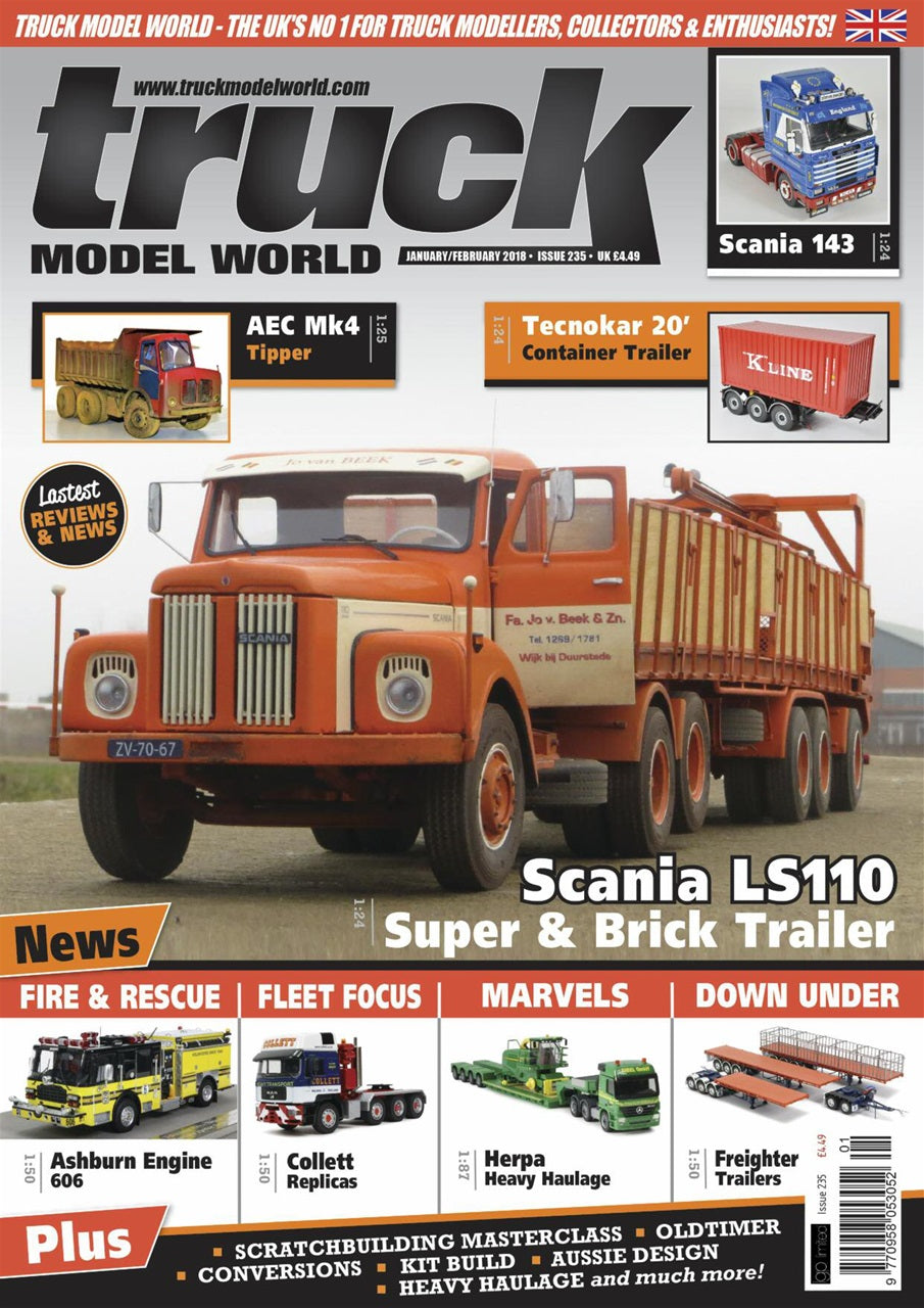 Truck Model World Magazine Jan Feb 2018
