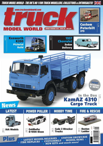 Truck Model World Magazine Issue No. 240