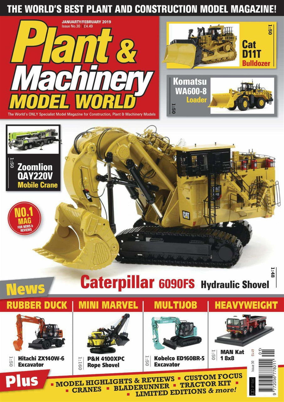 Plant & Machinery Model World Magazine Issue No. 30