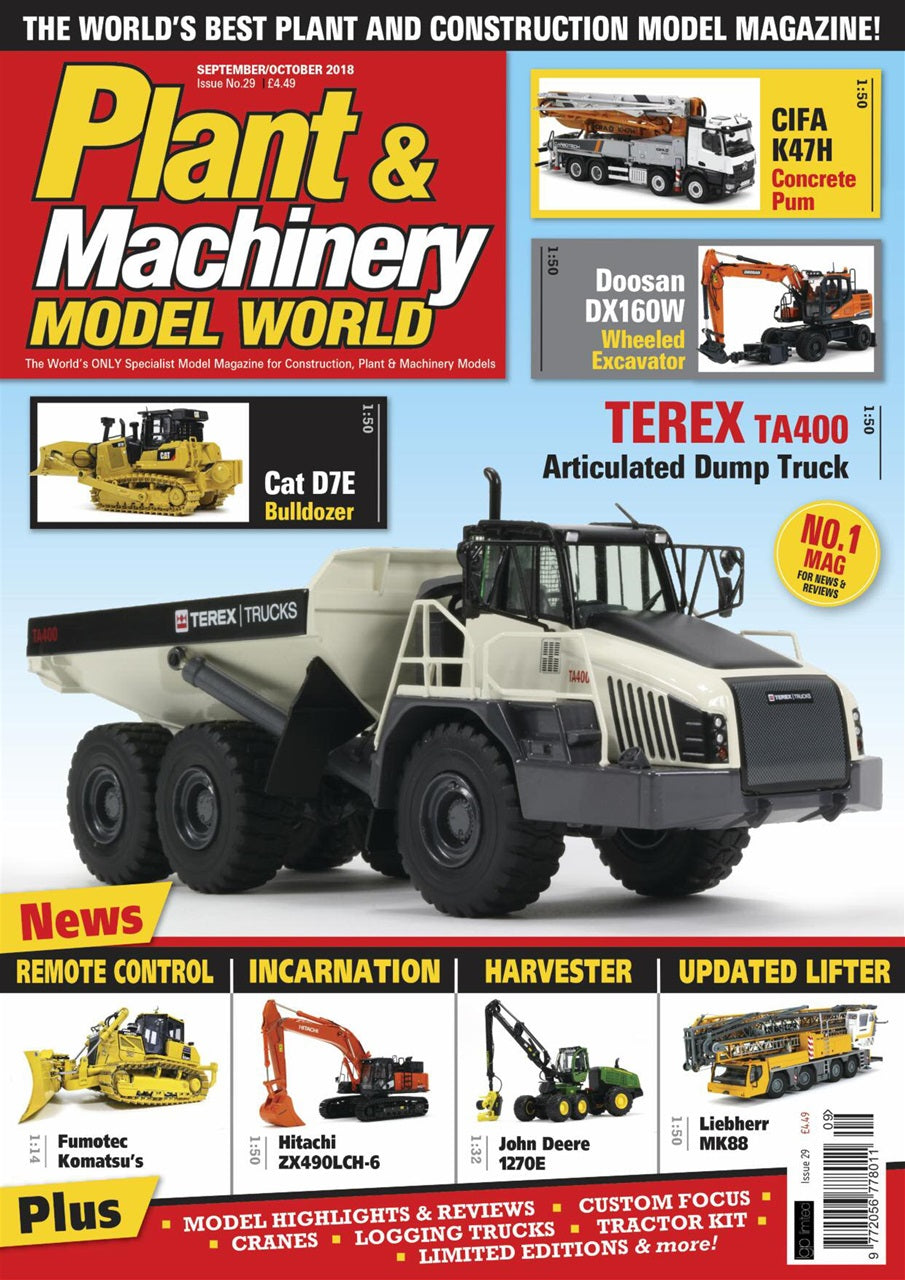 Plant & Machinery Model World Magazine Issue No. 29