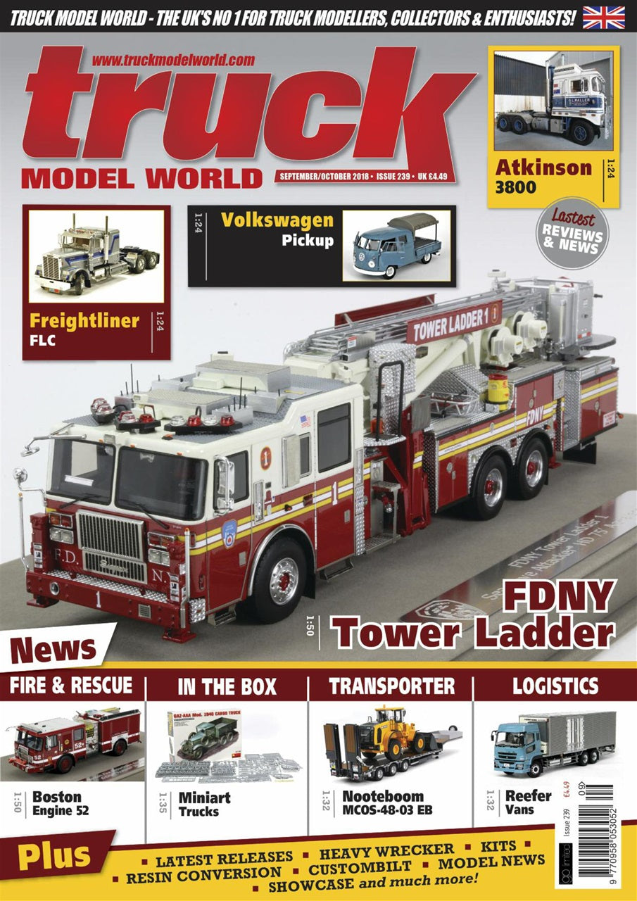 Truck Model World Magazine Issue No. 239