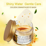 80pcs Gold Osmanthus Eye Mask