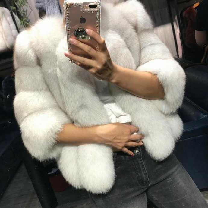 Anna Fox Fur Coat