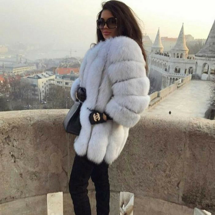 Katia Fox Fur Coat