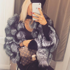 Kylie Fox Fur Coat