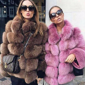 Andrea Fox Fur Coat