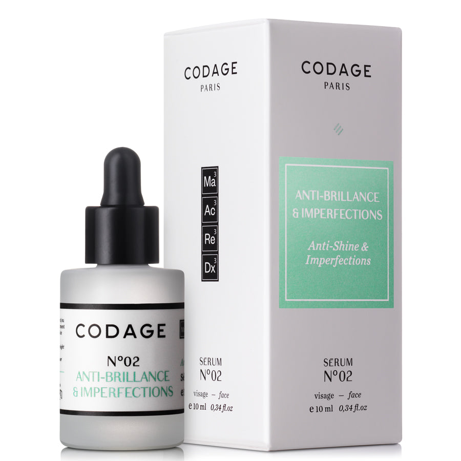 Codage Serum No.2 Mattifying & Repairing 10ml . UDGÅR