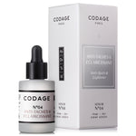 Codage Serum No.4 Anti Spots & Lightening 10ml. UDGÅR