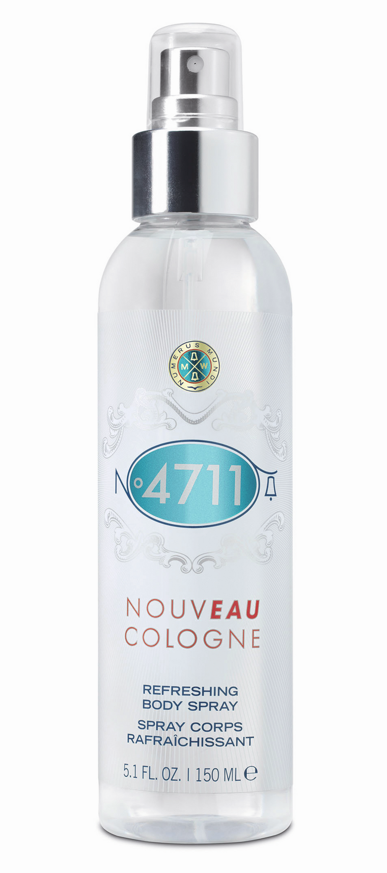 Nouveau cologne 4711 refreshing body spray, 150 ml.