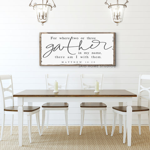 Gather - Matthew 18:20