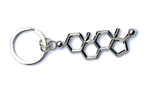 Testosterone Key Chain testosterone key ring