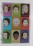 Nine women of Science magnet set