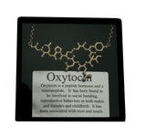 oxytocin molecule necklace