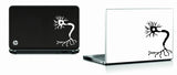 Neuron laptop decal
