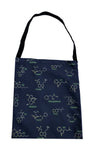 Altered States tote bag drug molecular structure tote bag