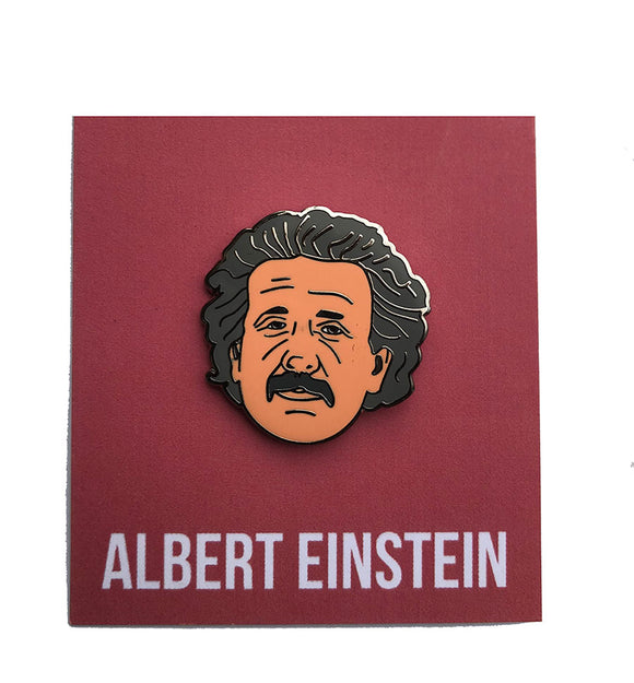 Albert Einstein Lapel Pin Science Pin Science Lapel pin