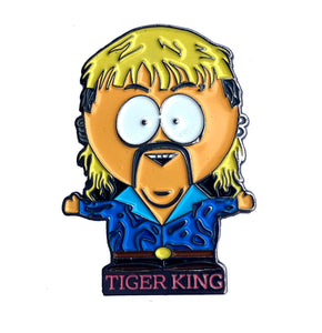 Tiger King Lapel Pin