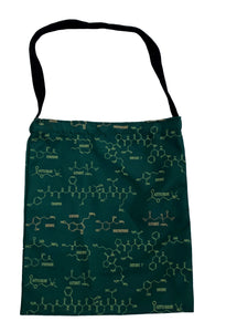 Neurotransmitter tote bag brain chemical tote bag neuroscience tote bag