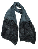 Copy of Neuron Scarf (Santiago Ramón y Cajal ) Gray Blue color