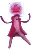 Clitoris plush doll